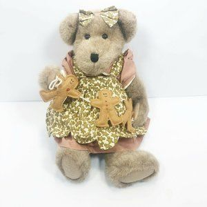"BOYDS BEARS Jilian G. Gingerbeary 14"" Teddy Bear"